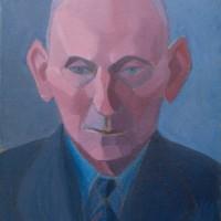 Portret man, 1952-1954