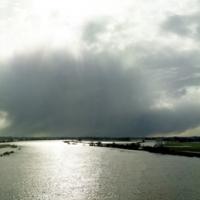 De IJssel bij Kampen 1, 110x265 cm, 2011