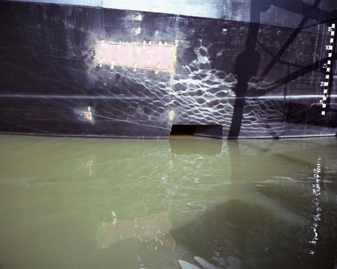 Water 707,  60x70 of 100x120 cm,2011
