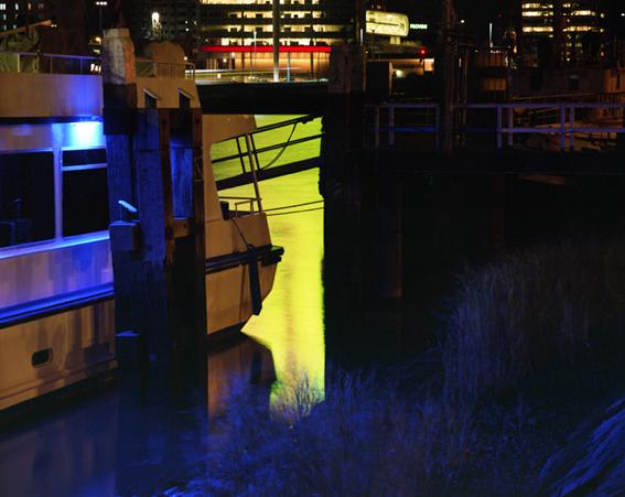 Licht 9,  60x70 of 100x120 cm,2009