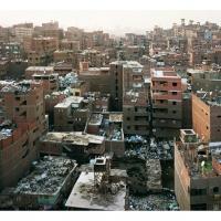 Mokattam ridge (garbage city), Caïro, 65x81 of 125x155 cm,2009