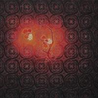 Teylers pattern-80 x 88 cm-acryl oil and sand on canvas-2017