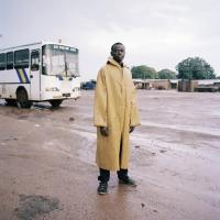 Bus station, Ghana, 120x100 cm, 2011