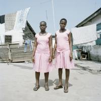Schoolgirls, Ghana, 120x100 cm, 2011