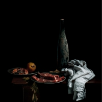 Apple meat, 82x65 cm, 2014